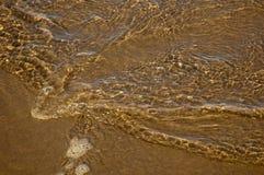 Золотистые волны Стоковая Фотография RF