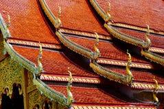 Золотистые драконы Стоковая Фотография