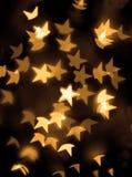Золотистые звезды Стоковое фото RF