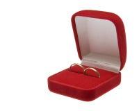 золотистые кольца 2 wedding Стоковое Фото