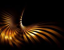 золотистые лучи Стоковая Фотография RF