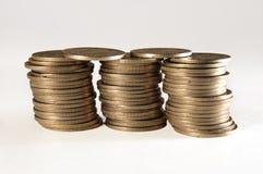 Золотистые монетки Стоковые Фото