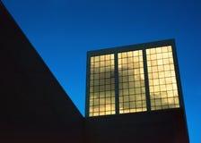 золотистые окна Стоковые Фотографии RF