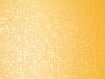 золотистые письма Стоковые Изображения