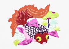 Золотистые рыбы Стоковая Фотография