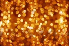 Золотистые света Стоковые Фото