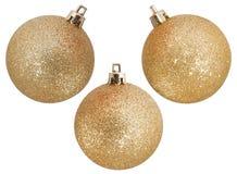 Золотистые шарики Стоковая Фотография RF