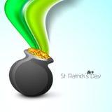 Золотистый бак монеток Стоковое фото RF