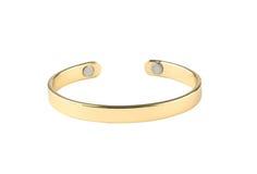 Золотистый браслет Стоковая Фотография