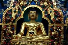 Золотистый Будда стоковое изображение