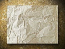 золотистый бумажный утес Стоковые Изображения