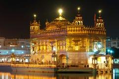 Золотистый висок в Amritsar, Индии Стоковые Фотографии RF