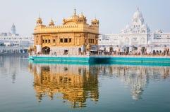 Золотистый висок, Amritsar, Индия Стоковое Изображение RF
