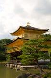 золотистый висок pavillion kyot kinkakuji Стоковые Фото