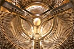 золотистый внутренний запиток машины Стоковые Фото