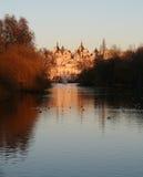 золотистый дворец Стоковое Изображение RF