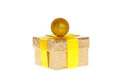 Золотистый дух рождества Стоковые Изображения RF