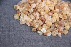 золотистый камень Стоковое фото RF