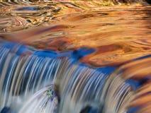 Золотистый каскад Стоковая Фотография RF
