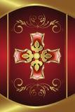 золотистый медальон Стоковое фото RF
