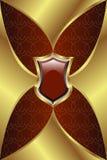 золотистый медальон Стоковая Фотография RF