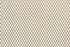 золотистый металл решетки Стоковые Изображения RF