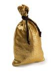 золотистый мешок Стоковые Изображения