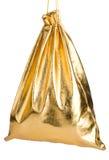 Золотистый мешок Стоковое Фото