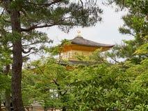 золотистый павильон kyoto Стоковые Фото