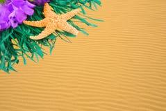 золотистый песок пульсаций lei Стоковое Изображение