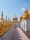 золотистый сикхский висок Стоковые Изображения