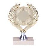 золотистый трофей Стоковое Изображение RF