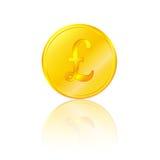золотистый фунт стерлинга бесплатная иллюстрация