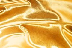 золотистый шелк Стоковые Фотографии RF