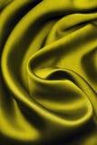 золотистый шелк Стоковая Фотография