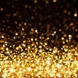 Золотистый яркий блеск Стоковые Изображения RF