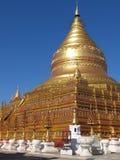 золотистый pagoda Стоковое Изображение