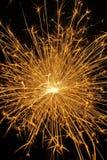 золотистый sparkle Стоковые Фотографии RF