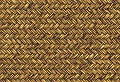 золотистый wicker сторновки Стоковая Фотография