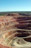 Золотодобывающий рудник Австралия Cobar Стоковые Изображения RF