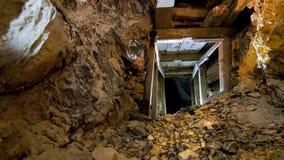 золотодобывающий рудник привидения стоковые фото