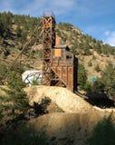 золотодобывающий рудник стоковая фотография