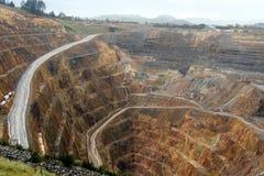Золотодобывающий рудник Waihi Стоковое Изображение