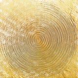 Золотое бронзовое современное художественное произведение афиша затрапезная стоковая фотография rf