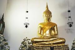 Золотой Будда, Wat Pho, Бангкок, Таиланд Стоковая Фотография RF