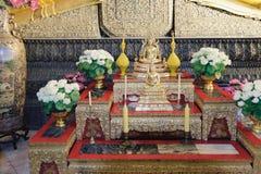 Золотой Будда, Wat Pho, Бангкок, Таиланд Стоковое Фото