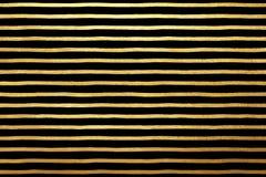 Золотой, вектор золота stripes роскошная предпосылка Стоковые Изображения RF