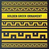 Золотой орнамент древнегреческия бесплатная иллюстрация