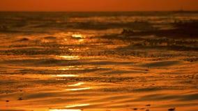 Золотой свет солнца над морем