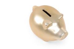 золото банка piggy Стоковая Фотография RF